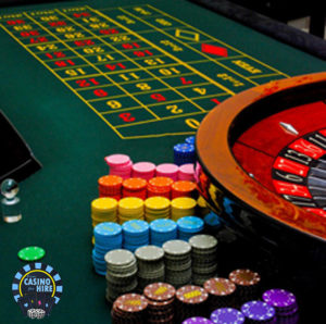 Fun Casino for Hire green table hire