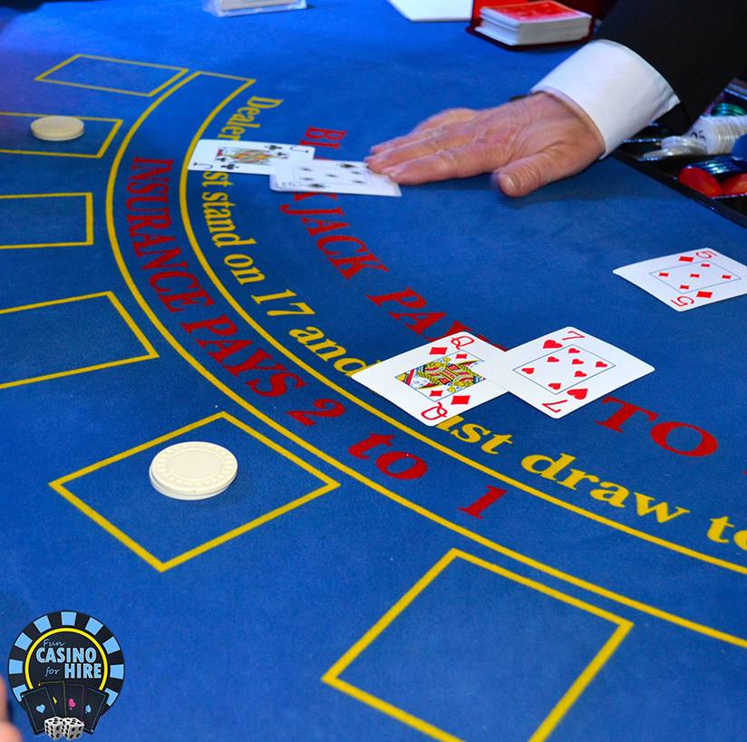 Fun casino hire blue casino tables