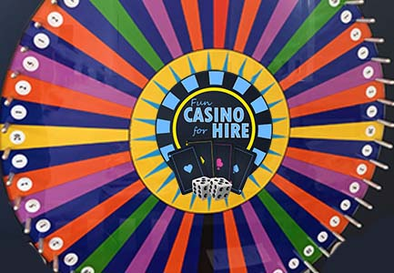 wheel of fortune fun casino hire