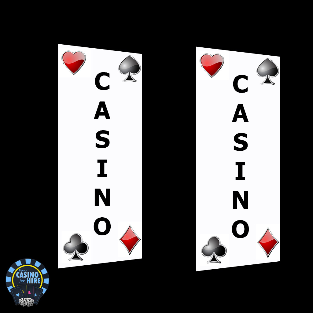 Light up casino banners