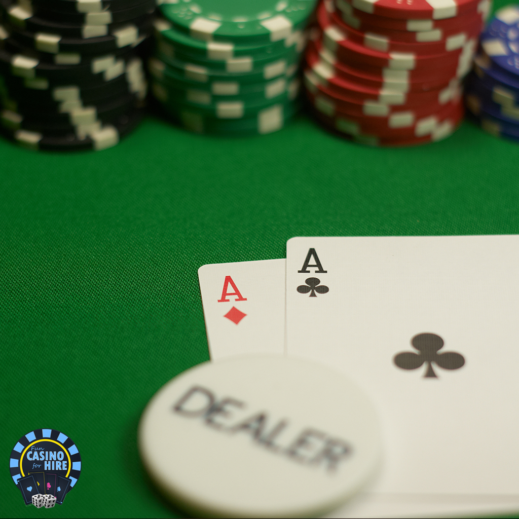 double aces poker hand fun casino for hire