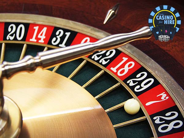 Roulette wheel corporate casino hire