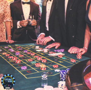 Fun Casino for hire at Weddings