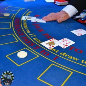 Fun casino hire blue casino tables
