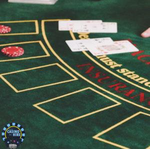 Fun casino for hire Blackjack green hire