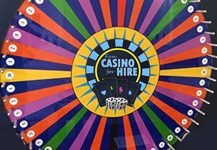 wheel of fortune fun casino hire