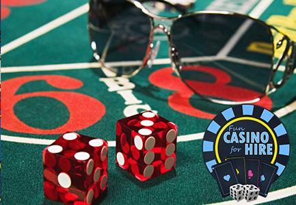 Fun casino for hire craps table hire