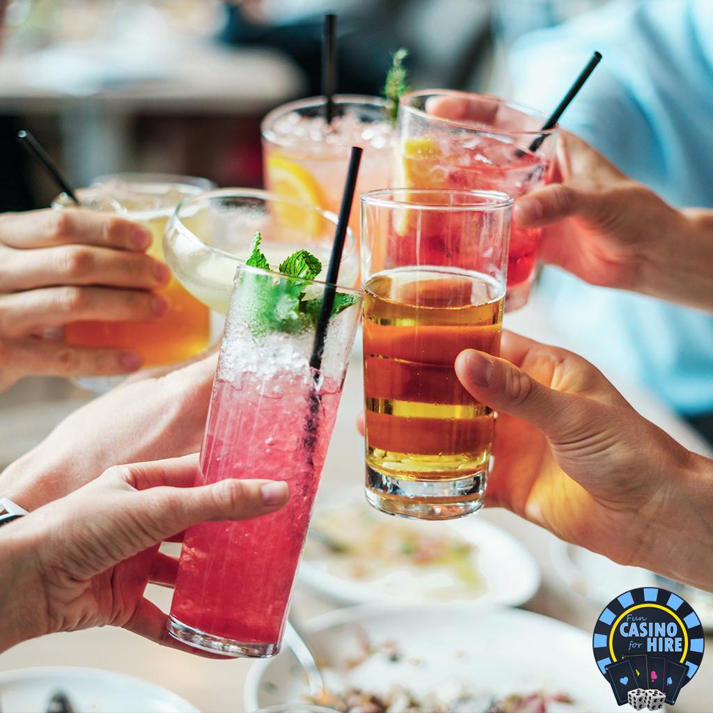 Fun casino fo hire cocktail party