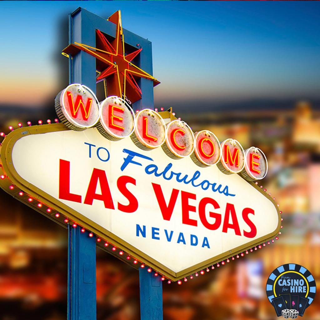 Las vegas backdrop for casino events