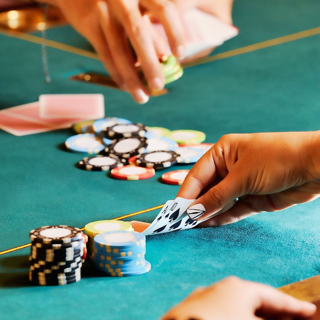 Fun casino hire, people playing games