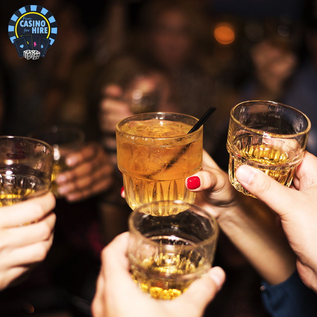 Raise your glass to a successful event
