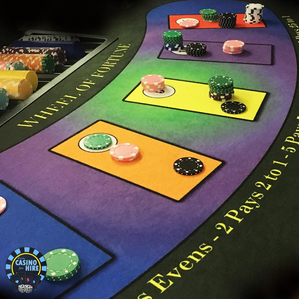 Fun casino hire wheel of fortune close up